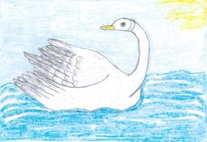 Сен-Санс, Лебедь 1