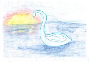 Сен-Санс, Лебедь 8